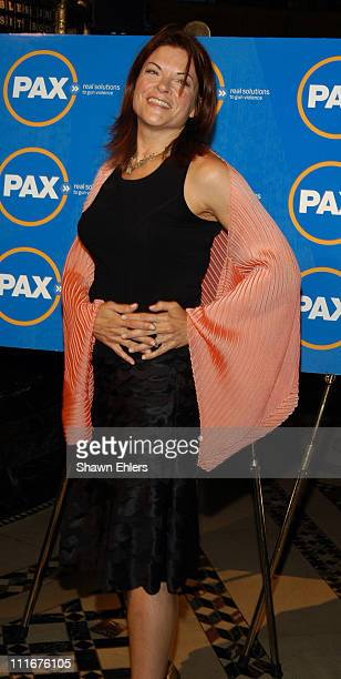Rosanne Cash during PAX Benefit Gala 2004 at Cipriani in New York City New York United States