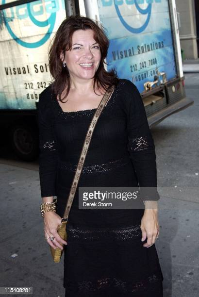 Rosanne Cash during Rosanne Cash Devik Wiener Unveil Leigh Weiner's Book 'Johnny Cash Photographs' July 18 2006 at The Cutting Room in New York City...