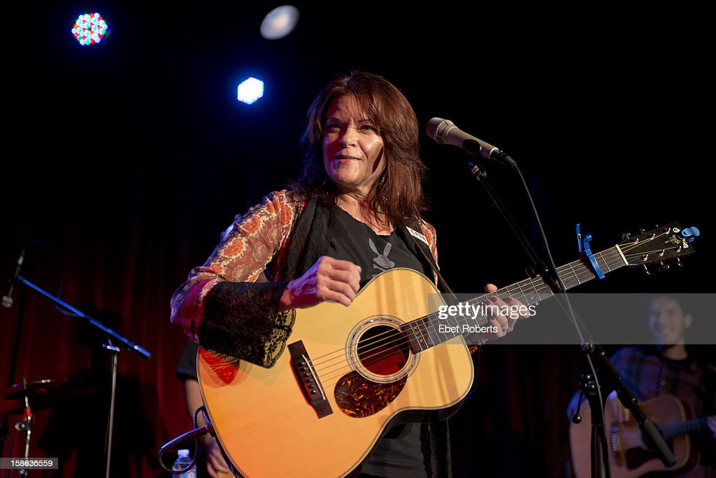 Rosanne Cash performs at The Musical Extravaganza To Restore Red Hook at The Bell House in Brooklyn, New York on November 21, 2012.