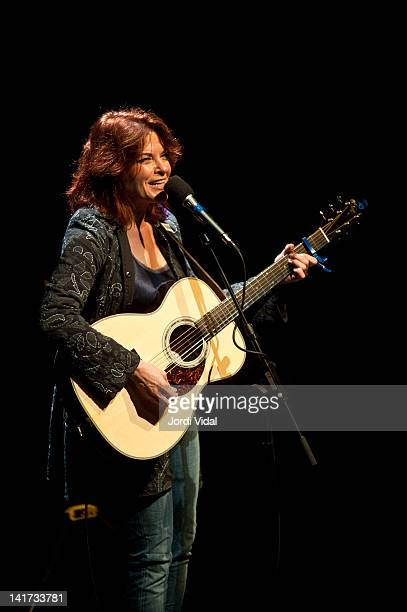 Rosanne Cash performs on stage during Blues i Ritmes Festival at Teatre Zorrilla on March 22 2012 in Badalona Spain