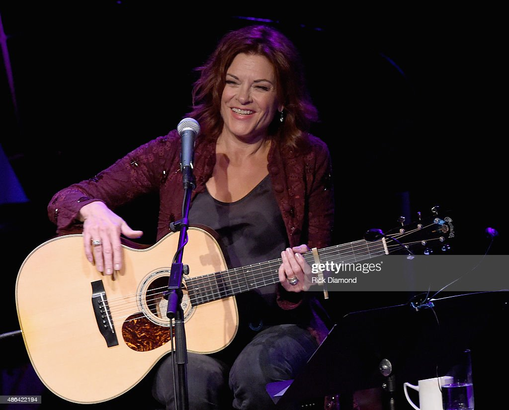 <a gi-track='captionPersonalityLinkClicked' href=/galleries/search?phrase=Rosanne+Cash&family=editorial&specificpeople=243014 ng-click='$event.stopPropagation()'>Rosanne Cash</a> (pictured) Performs With Special Guests Emmylou Harris And Lucinda Williams During Her Second Artist-in-Residence Show At The Country Music Hall Of Fame And Museum on September 3, 2015 in Nashville, Tennessee.