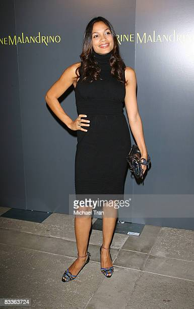 Rosario Dawson arrives to the Catherine Malandrino Maison Boutique grand opening party held on October 20 2008 in Los Angeles California