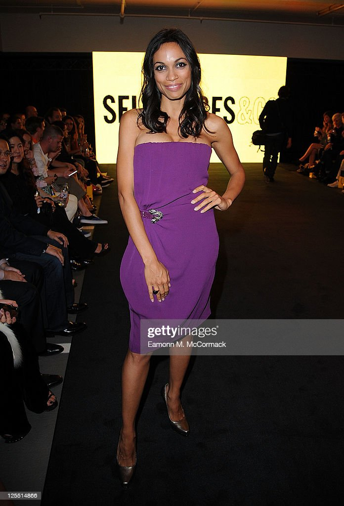 Rosario Dawson at The Launch Of House Of Dereon By Beyonce And Tina Knowles at Selfridges on September 17 2011 in London England