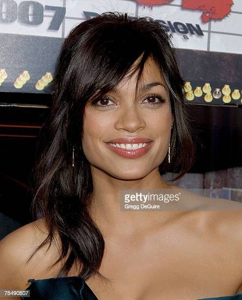 Rosario Dawson at the The Orpheum Theatre in Los Angeles California