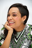 Rosario Dawson at the 'Top Five' Press Conference at the Ritz Carlton Hotel on November 22 2014 in New York City