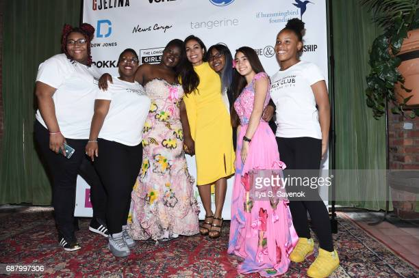 Rosario Dawson attends 2017 Lower Eastside Girls Club Spring Fling And Awards Gala at The Bowery Terrace at the Bowery Hotel on May 24 2017 in New...