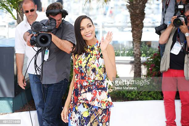 Rosario Dawson attends 'Captives' photocall at the 67th Annual Cannes Film Festival on May 16 2014 in Cannes France