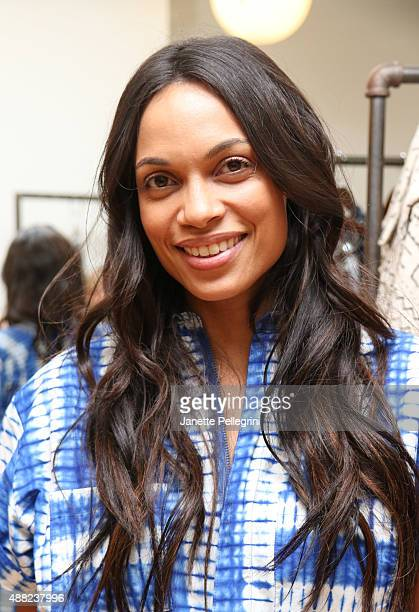 Rosario Dawson attends Studio 189 Presentation at Spring 2016 New York Fashion WeekThe Shows on September 14 2015 in New York City