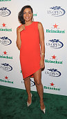 Rosario Dawson attends the 2013 US Open KickOff Party at PHD Rooftop Lounge at Dream Downtown on August 22 2013 in New York City