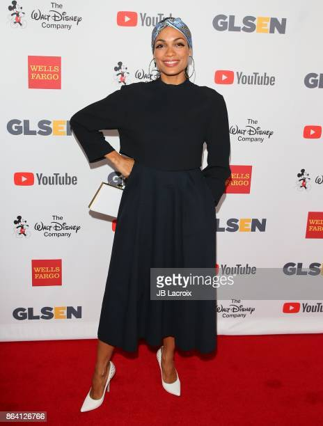 Rosario Dawson attends the 2017 GLSEN Respect Awards on October 20 2017 in Los Angeles California