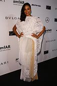 Rosario Dawson attends the amfAR Milano 2014 Gala as part of Milan Fashion Week Womenswear Spring/Summer 2015 on September 20 2014 in Milan Italy