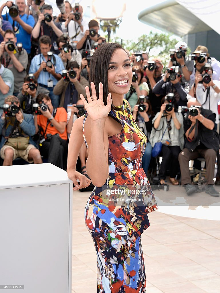 Rosario Dawson attends the 'Captives' photocall during the 67th Annual Cannes Film Festival on May 16, 2014 in Cannes, France.