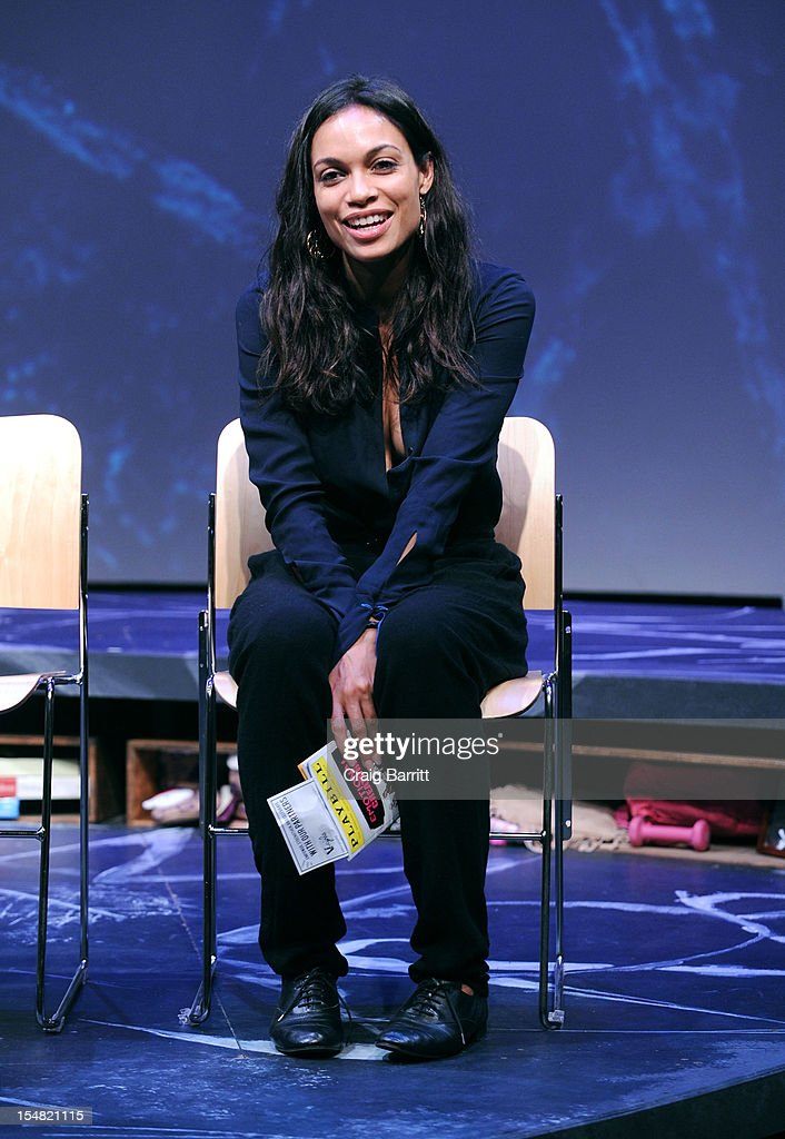 <a gi-track='captionPersonalityLinkClicked' href=/galleries/search?phrase=Rosario+Dawson&family=editorial&specificpeople=201472 ng-click='$event.stopPropagation()'>Rosario Dawson</a> attends the 'Emotional Creatures' Talkback Series at The Pershing Square Signature Center on October 26, 2012 in New York City.