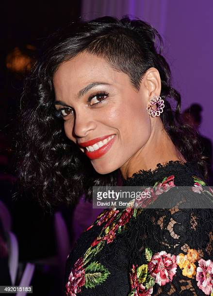 Rosario Dawson attends 'The Expendables 3' private dinner and party at Gotha Night Club at Palm Beach on May 18 2014 in Cannes France