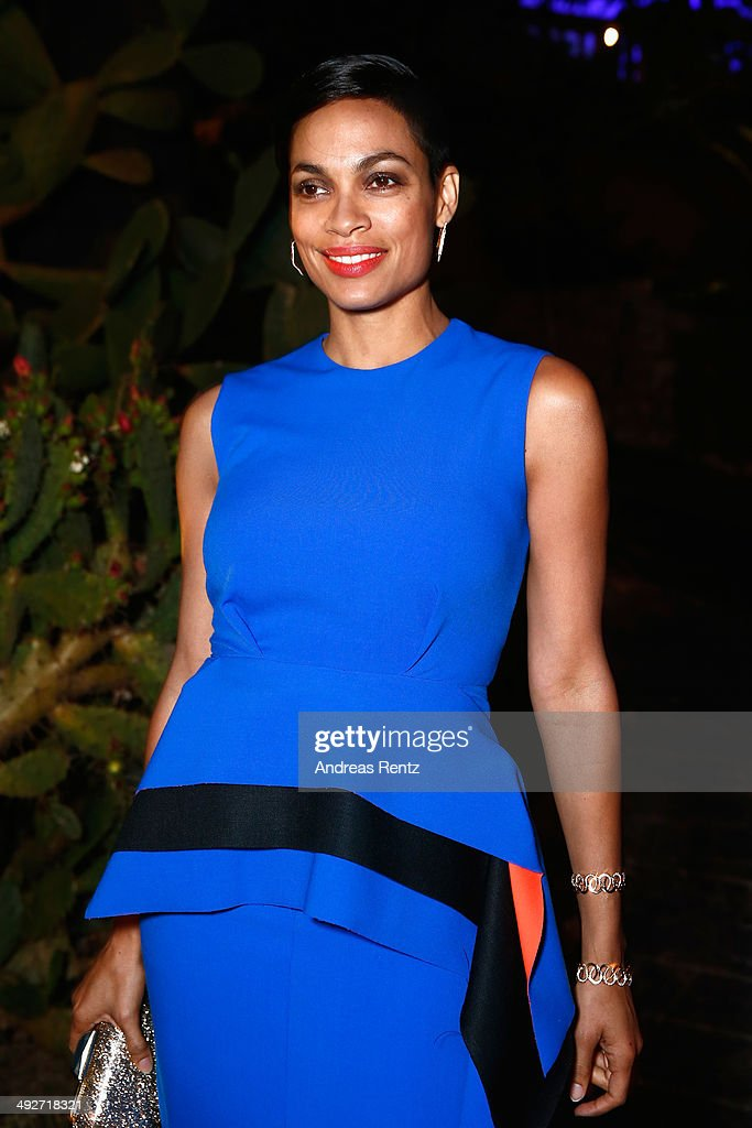 Rosario Dawson attends the Puerto Azul Experience at the 67th Annual Cannes Film Festival on May 21, 2014 in Cannes, France.
