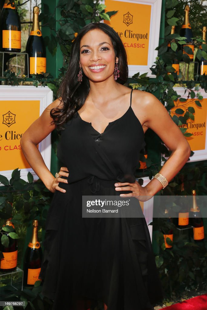 Rosario Dawson attends the sixth annual Veuve Clicquot Polo Classic on June 1, 2013 in Jersey City.