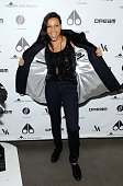 Rosario Dawson attends the US launch of Moose Knuckles at Dream Downtown on October 20 2014 in New York City