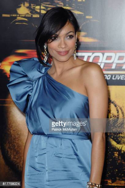 Rosario Dawson attends UNSTOPPABLE World Premiere at Regency Village Theatre on October 26 2010 in Westwood California