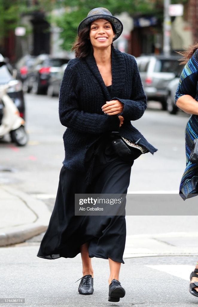<a gi-track='captionPersonalityLinkClicked' href=/galleries/search?phrase=Rosario+Dawson&family=editorial&specificpeople=201472 ng-click='$event.stopPropagation()'>Rosario Dawson</a> is seen in the East Village on July 25, 2013 in New York City.