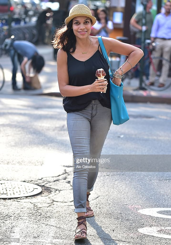<a gi-track='captionPersonalityLinkClicked' href=/galleries/search?phrase=Rosario+Dawson&family=editorial&specificpeople=201472 ng-click='$event.stopPropagation()'>Rosario Dawson</a> is seen in the East Village on July 8, 2014 in New York City.