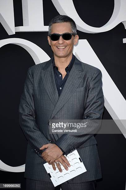 Rosario Fiorello attends 'One Night Only' Roma on June 5 2013 in Rome Italy