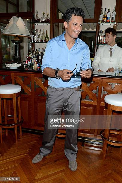 Rosario Fiorello attends the 2012 Nastri d'Argento Awards cocktail party hosted by Bulgari on June 30 2012 in Taormina Italy