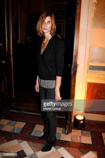 Rosario Nadal attends the Larry Gagosian Gallery Opening party on October 19 2010 in Paris France