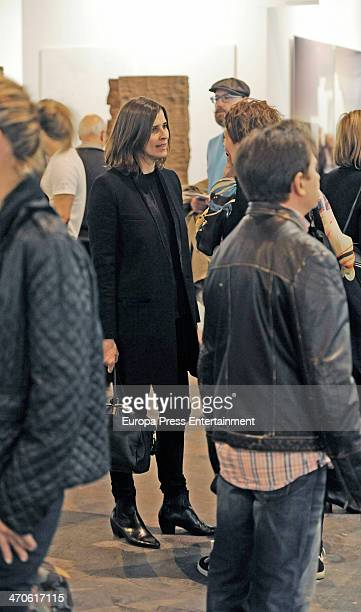 Rosario Nadal is seen at ARCO Contemporary Art Fair at Ifema on February 19 2014 in Madrid Spain