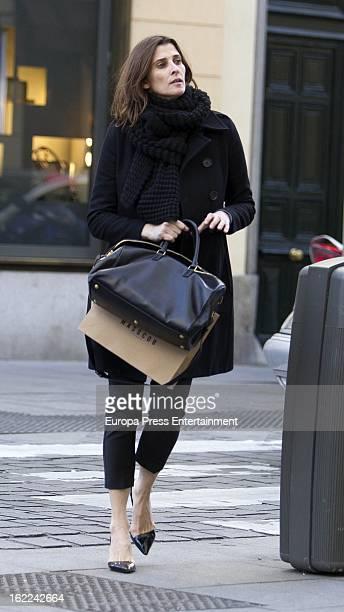 Rosario Nadal is seen on February 12 2013 in Madrid Spain