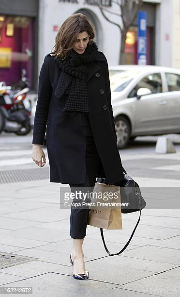 Rosario Nadal is seen on February 12 2013 in Madrid Spain