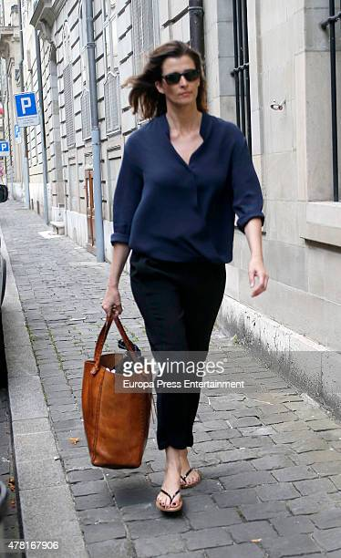 Rosario Nadal is seen the day of Princess Cristina's 50th birthday on June 13 2015 in Geneva Switzerland
