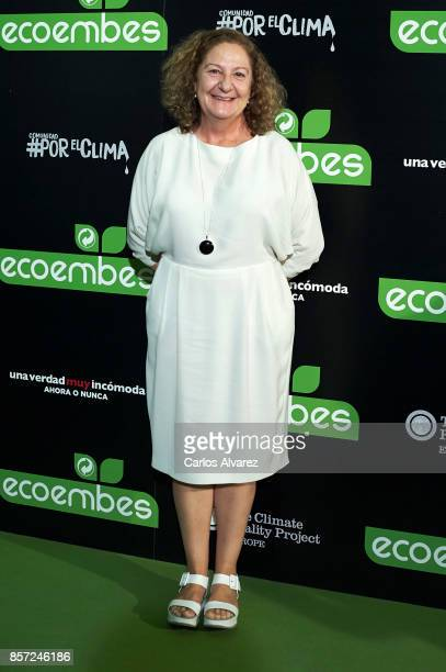 Rosario Pardo attends 'An Inconvenient Sequel Truth to Power' premiere at the Callao cinema on October 3 2017 in Madrid Spain