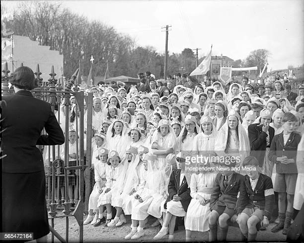 Rosary Crusade Clifden Co Galway Local school children who sang