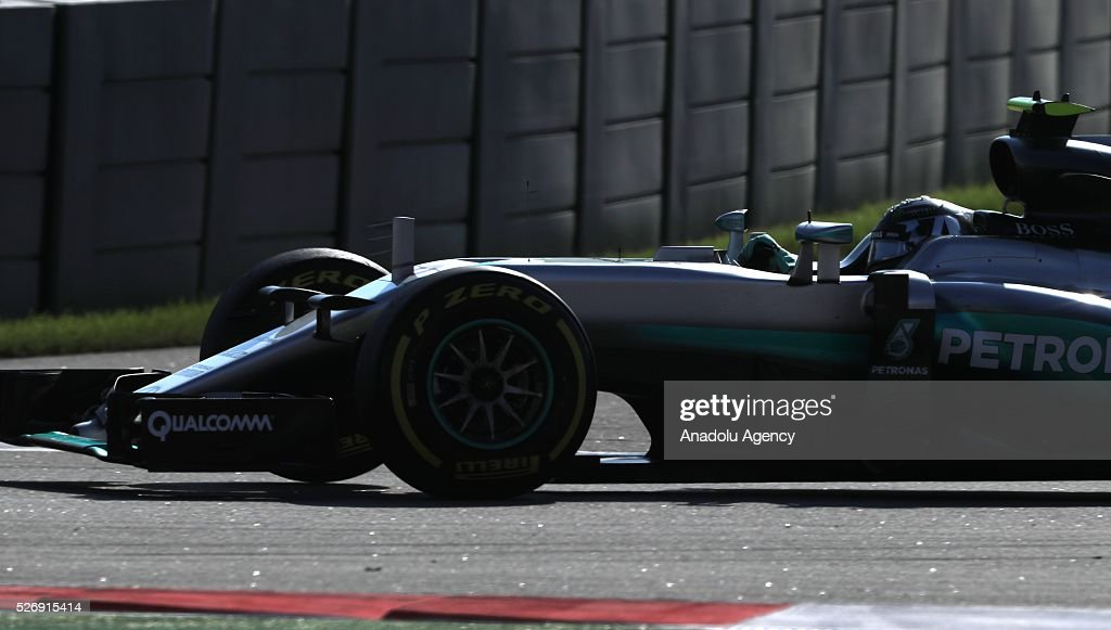 N. Rosberg races during the Formula One Grand Prix of Russia at Sochi Autodrom in Sochi, Russia on May 01, 2016.