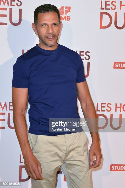 Roschdy Zem attends the 'Les Hommes du feu' Paris premiere at Cinema Pathe Beaugrenelle on June 23 2017 in Paris France