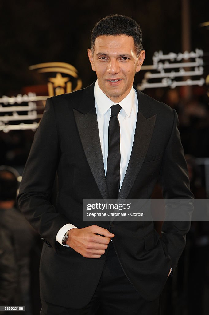 Roschdy Zem attends the Opening Ceremony of the Marrakech 10th Film Festival.