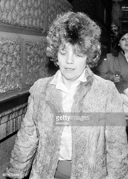 Rose Alexander Brett sister in law of murder victim George Brett attends court hearing Henry McKenny Murder Trial at Old Bailey London 28th November...