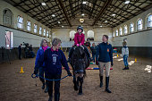 GBR: Sandhurst Military School's Brunei Stables Contends For Military Prize