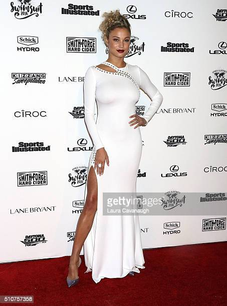 Rose Bertram attends Sports Illustrated Celebrates Swimsuit 2016 at Brookfield Place on February 16 2016 in New York City