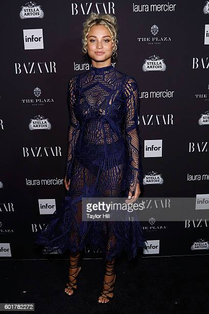 Rose Bertram attends the 2016 Harper ICONS Party at The Plaza Hotel on September 9 2016 in New York City