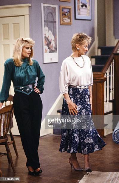 LIFE 'A Rose by Any Other Age' Episode 8 Pictured Lisa Whelchel as Blair Warner Cloris Leachman as Beverly Ann Stickle Photo by Alice S Hall/NBC/NBCU...