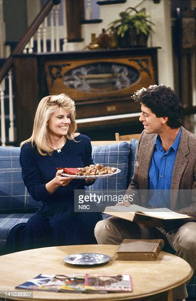 LIFE 'A Rose by Any Other Age' Episode 8 Pictured Lisa Whelchel as Blair Warner Jeff Allin as Larry Preston Photo by Alice S Hall/NBC/NBCU Photo Bank