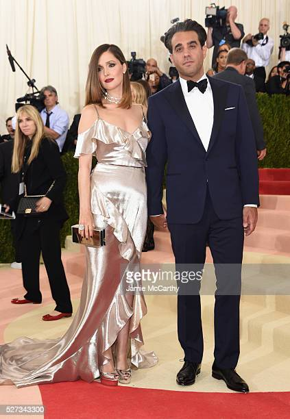 Rose Byrne and Bobby Cannavale attend the 'Manus x Machina Fashion In An Age Of Technology' Costume Institute Gala at Metropolitan Museum of Art on...
