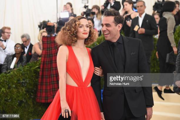 Rose Byrne and Bobby Cannavale attend the 'Rei Kawakubo/Comme des Garcons Art Of The InBetween' Costume Institute Gala at Metropolitan Museum of Art...