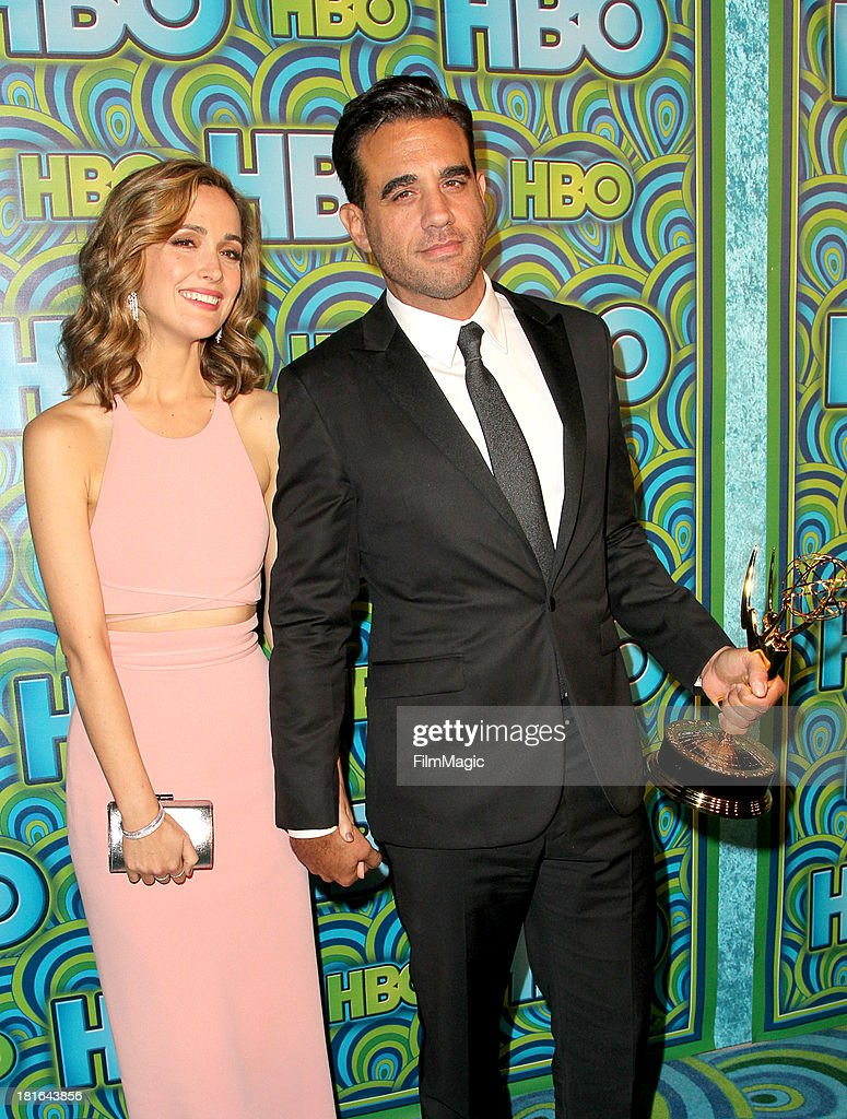 <a gi-track='captionPersonalityLinkClicked' href=/galleries/search?phrase=Rose+Byrne&family=editorial&specificpeople=206670 ng-click='$event.stopPropagation()'>Rose Byrne</a> and <a gi-track='captionPersonalityLinkClicked' href=/galleries/search?phrase=Bobby+Cannavale&family=editorial&specificpeople=211166 ng-click='$event.stopPropagation()'>Bobby Cannavale</a> attends HBO's official Emmy After Party at The Plaza at the Pacific Design Center on September 22, 2013 in Los Angeles, California.