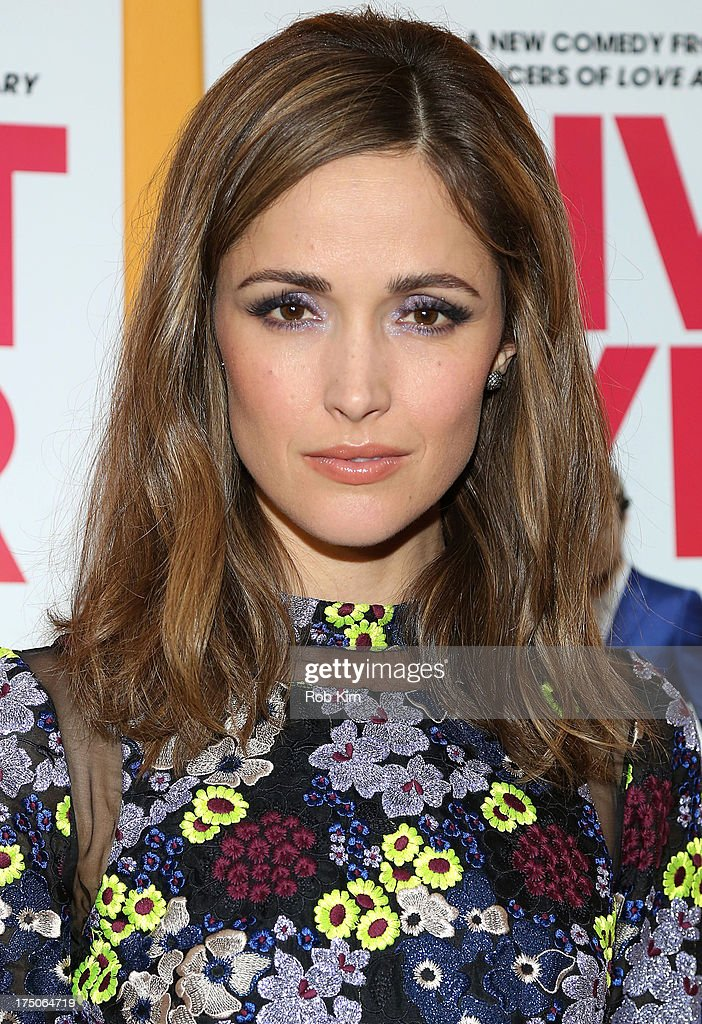 <a gi-track='captionPersonalityLinkClicked' href=/galleries/search?phrase=Rose+Byrne&family=editorial&specificpeople=206670 ng-click='$event.stopPropagation()'>Rose Byrne</a> arrives at 'I Give It A Year' Special New York Screening at 79 Crosby Street on July 30, 2013 in New York City.