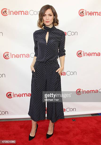 Rose Byrne arrives at the 2015 CinemaCon Twentieth Century Fox Presentation held at Caesars Palace Resorts and Casino on April 23 2015 in Las Vegas...