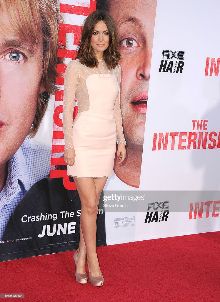 Rose Byrne arrives at 'The Internship' - Los Angeles Premiere at Regency Village Theatre on May 29, 2013 in Westwood, California.