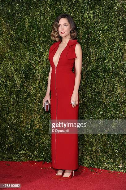 Rose Byrne attends American Theatre Wing's 69th Annual Tony Awards at Radio City Music Hall on June 7 2015 in New York City