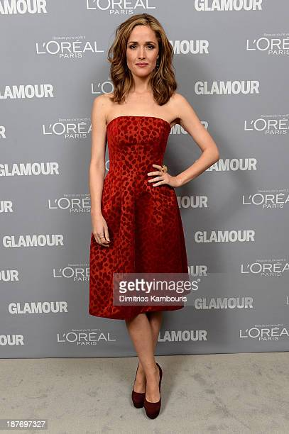 Rose Byrne attends Glamour's 23rd annual Women of the Year awards on November 11 2013 in New York City
